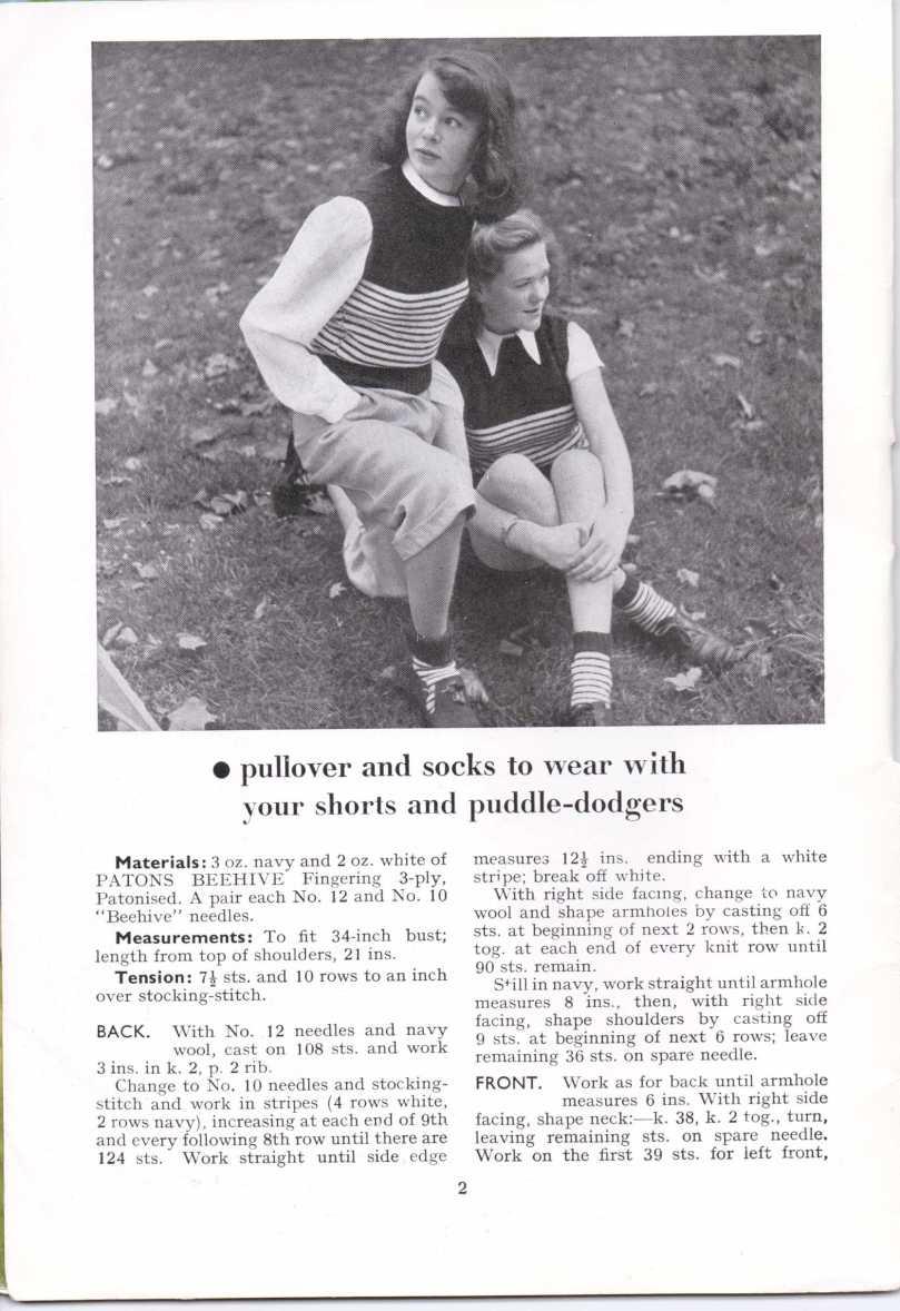 ForTheJuniorMiss Stitchcraft 1940s magazine scan 40's p2