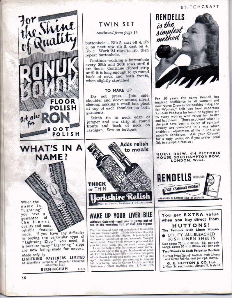 Stitchcraft Aug 194615