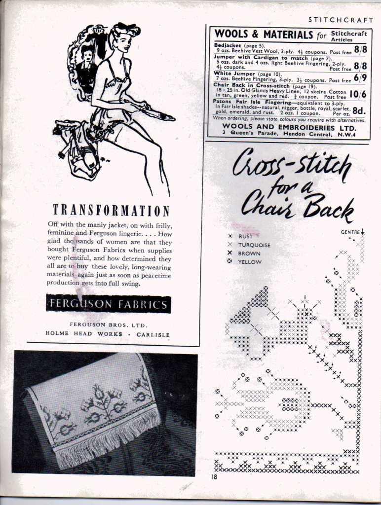 Stitchcraft Aug 194617