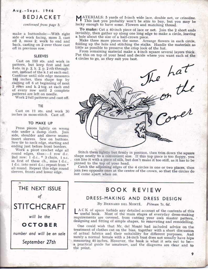 Stitchcraft Aug 19468