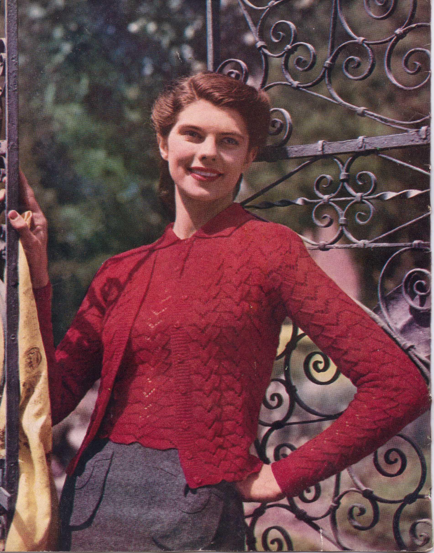 Free Vintage Knitting Magazine – Stitchcraft February 1947 – The ...