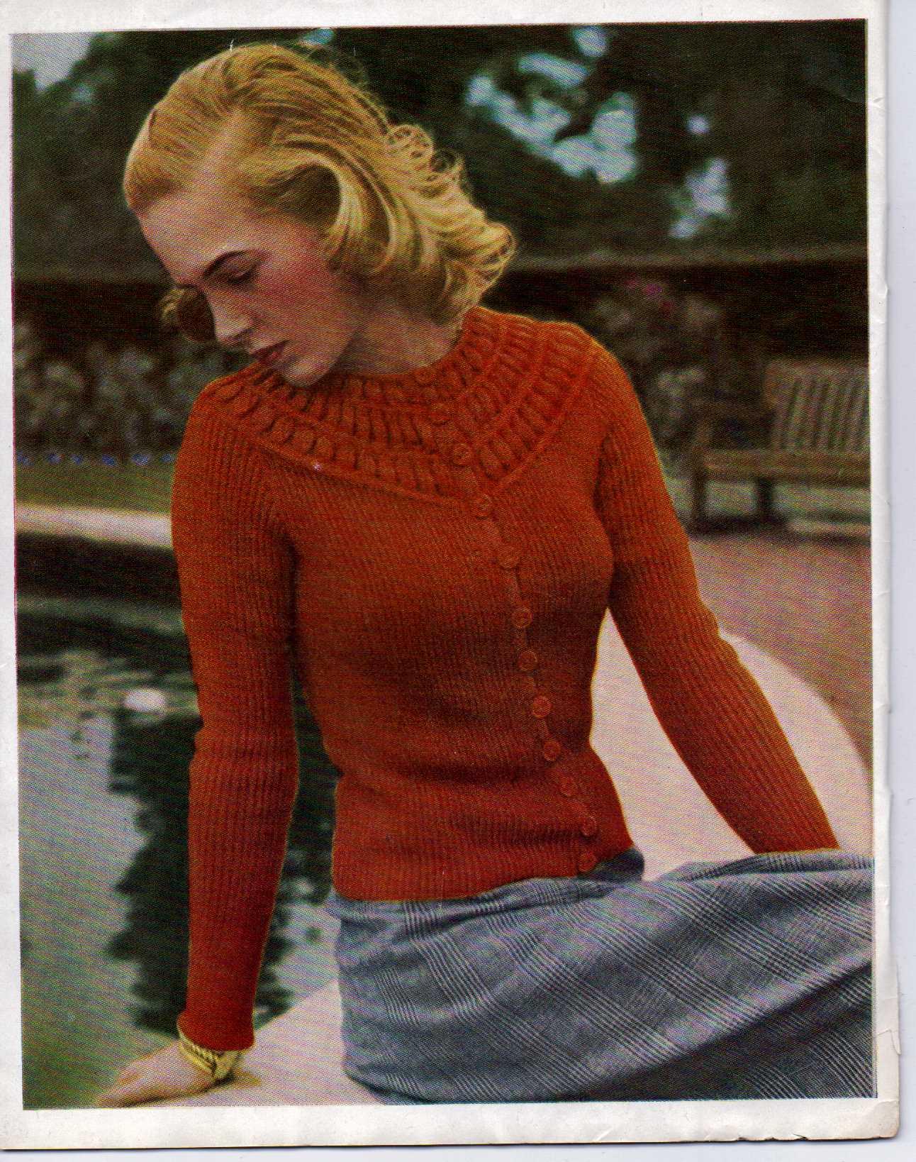 Free Vintage Knitting Magazine – Stitchcraft January 1947 – The ...