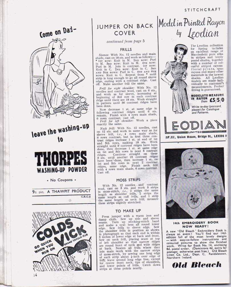 Stitchcraft April 194713