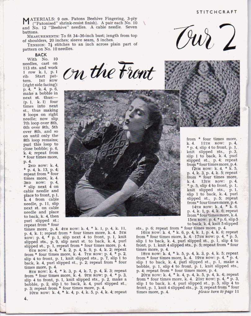 Stitchcraft April 19473