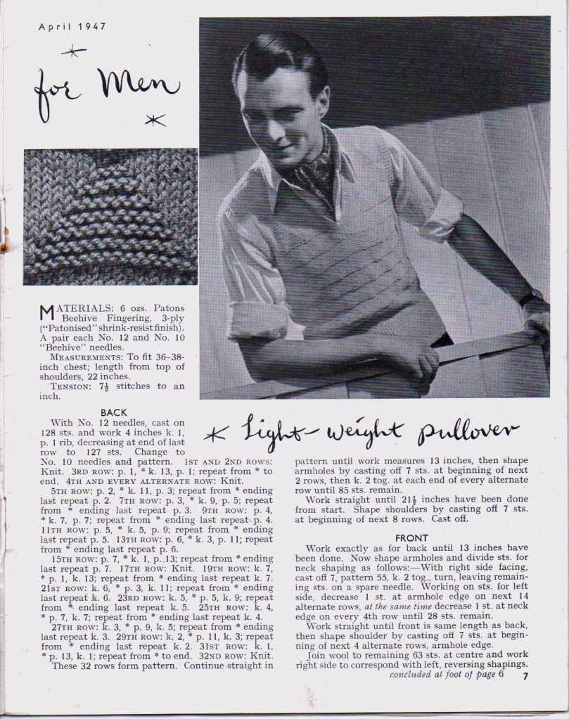 Stitchcraft April 19476