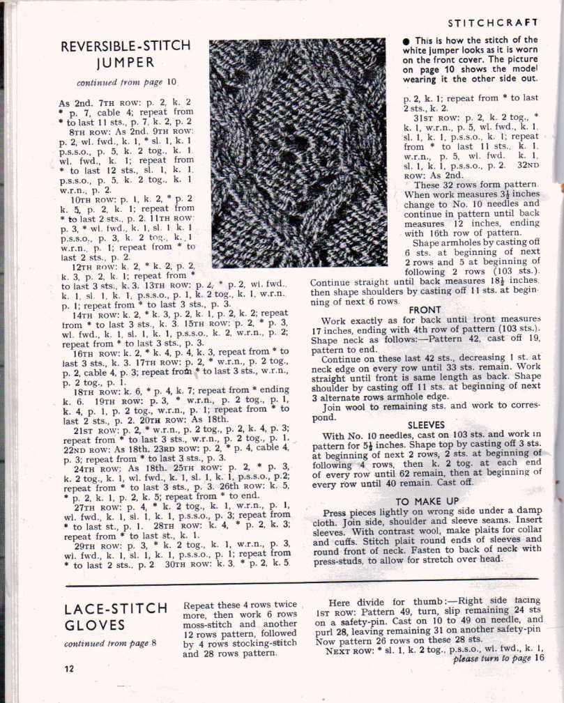 Stitchcraft May 194711