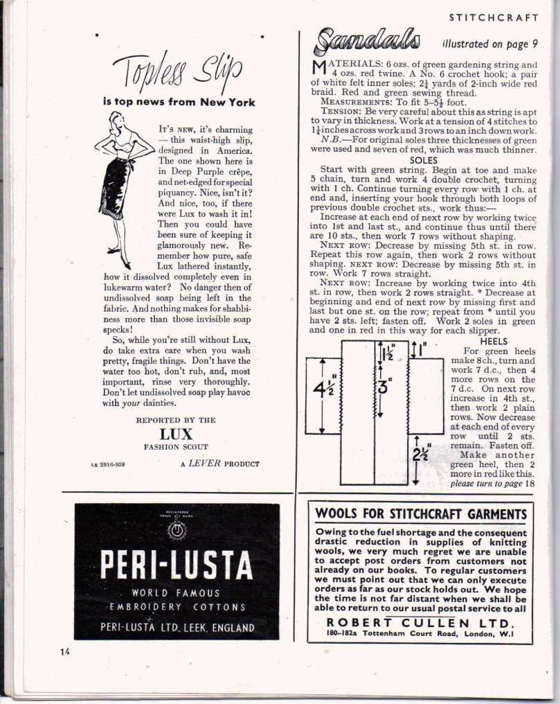 Stitchcraft May 194713