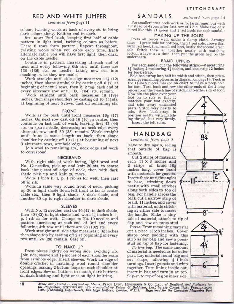 Stitchcraft May 194717