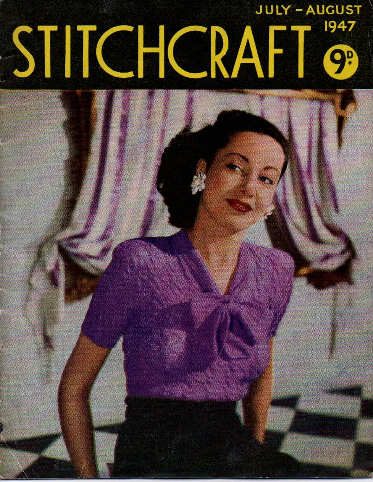 Free Vintage Knitting Magazine Stitchcraft July
