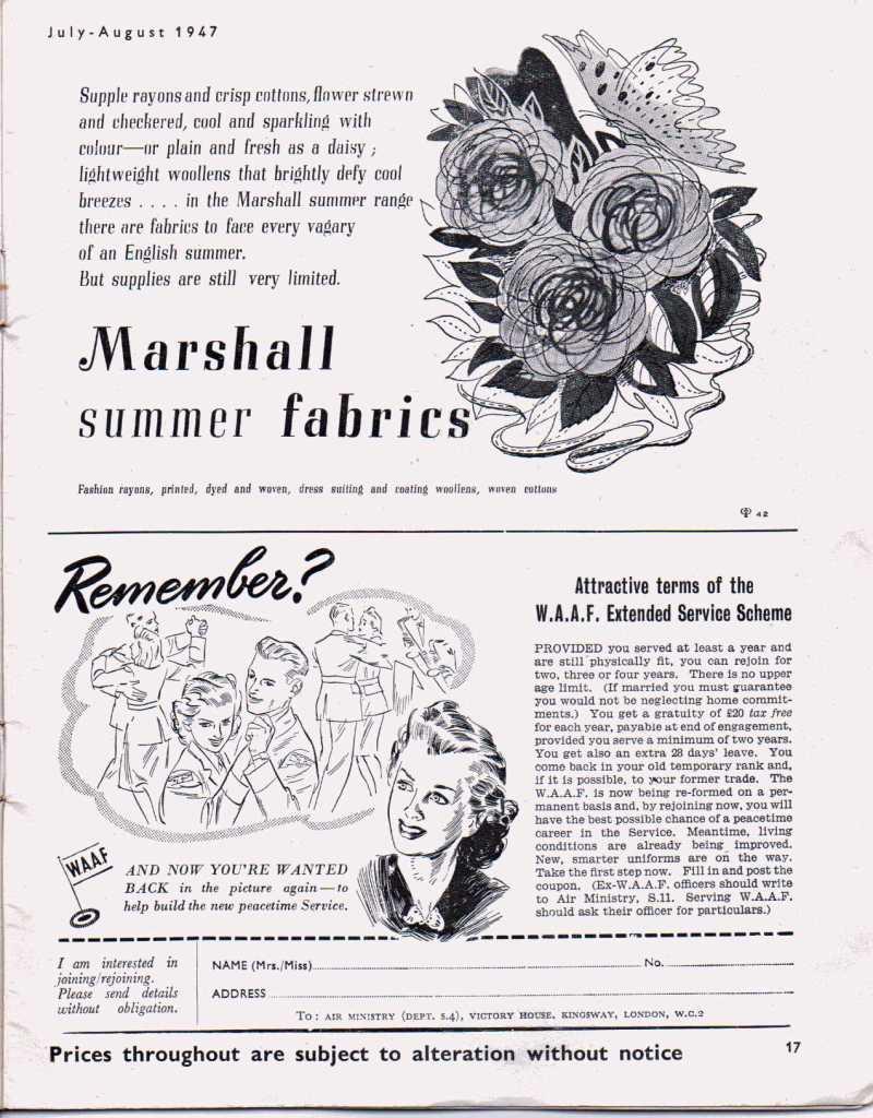 Stitchcraft August 194716
