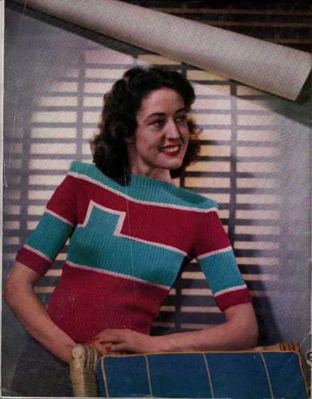 Free Vintage Knitting Magazine Stitchcraft July – August 1947