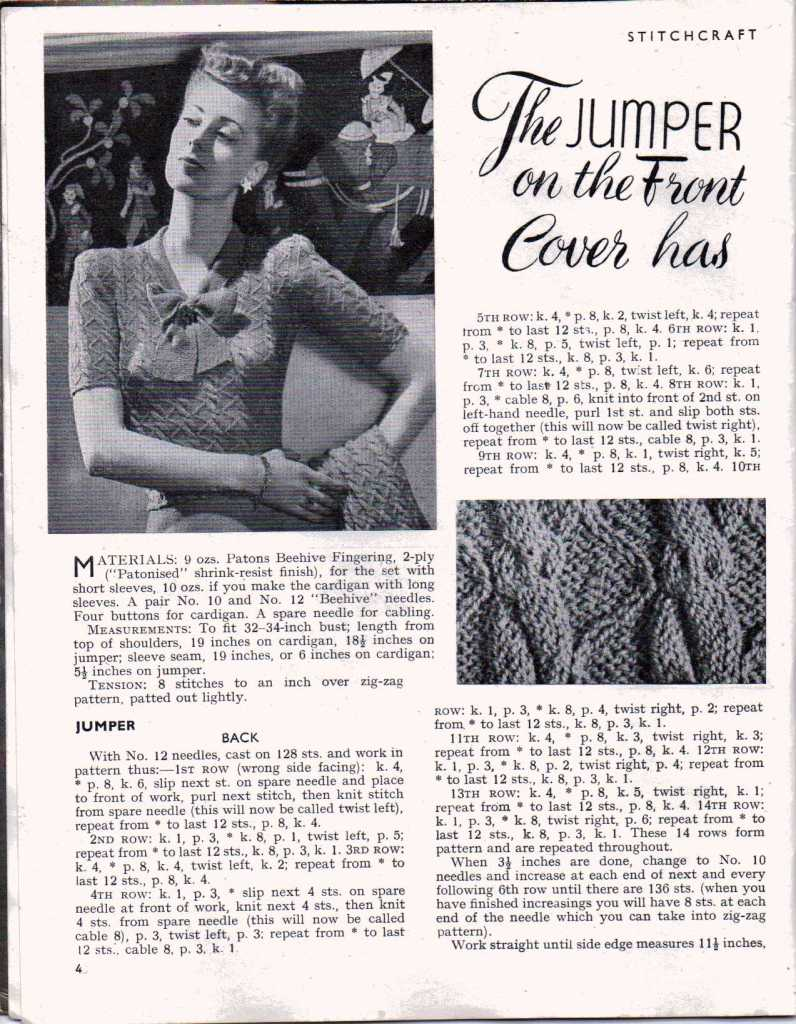 Stitchcraft August 19473