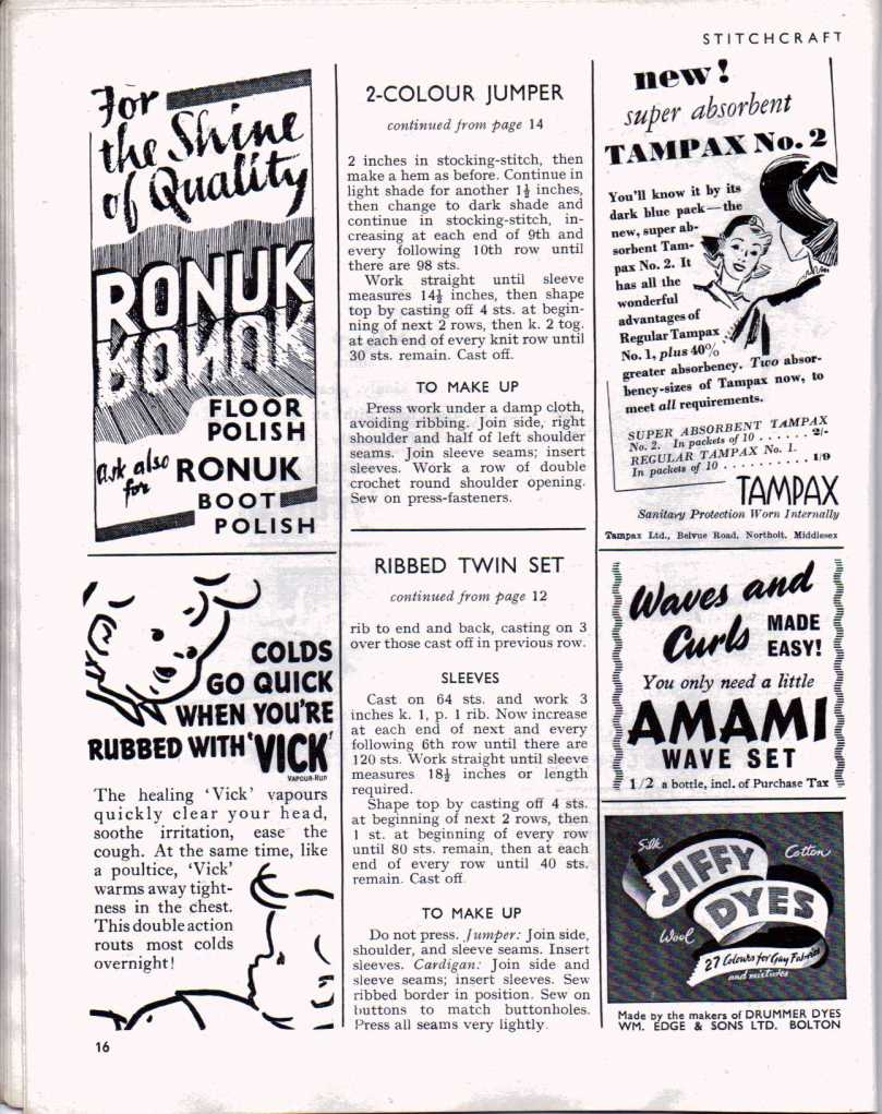 Stitchcraft  Dect 1947 15