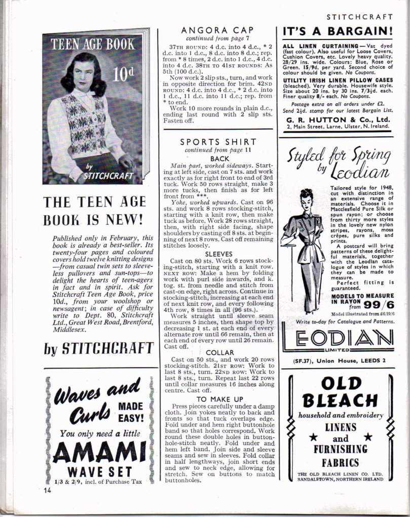 Stitchcraft April 1947 13