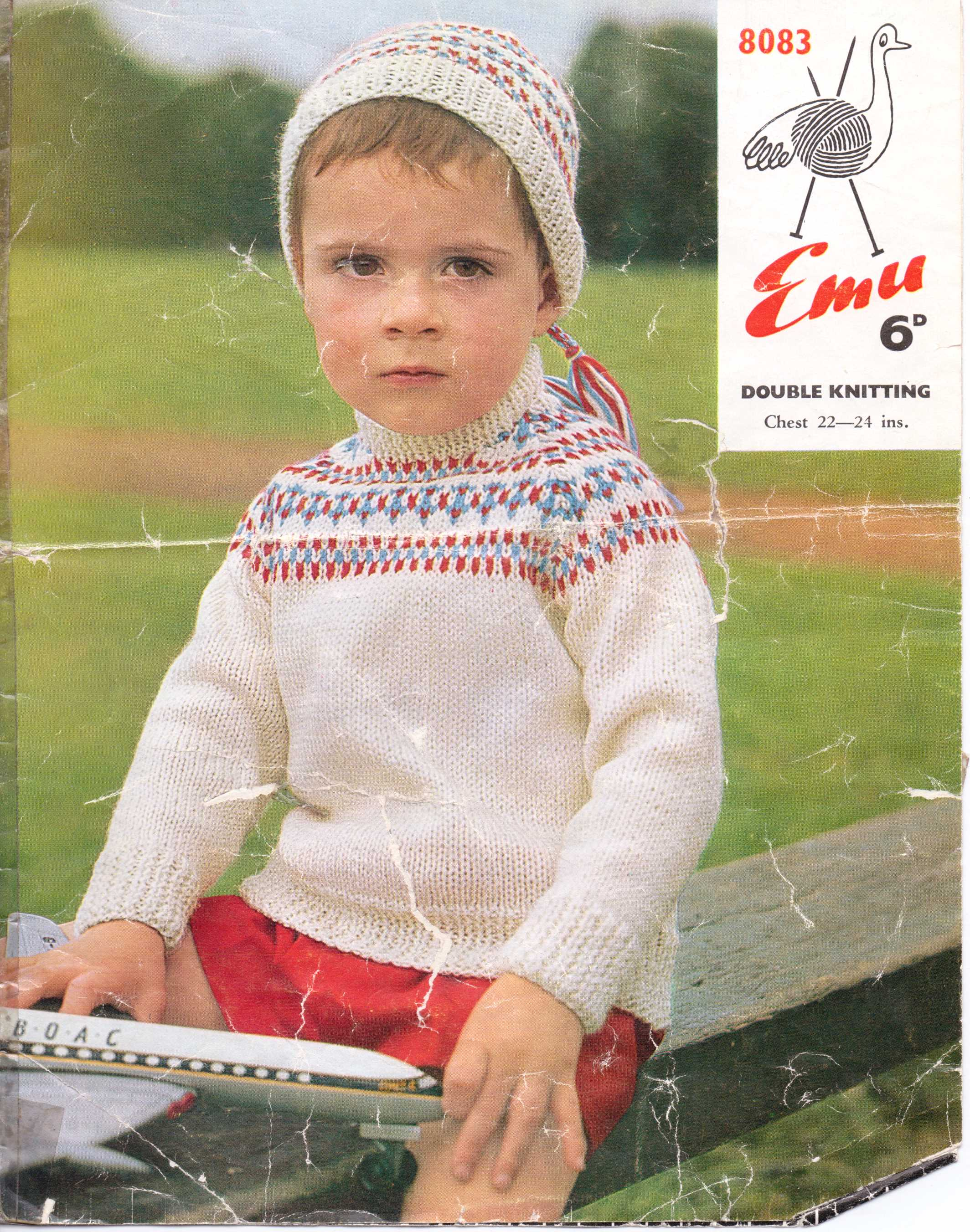 Free Knitting Patterns : Fair Isle and Colourwork 5 – A Boys Sweater ...
