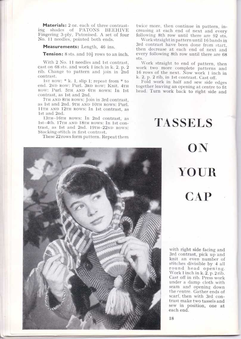 ForTheJuniorMiss Stitchcraft 1940s magazine scan 40's p18