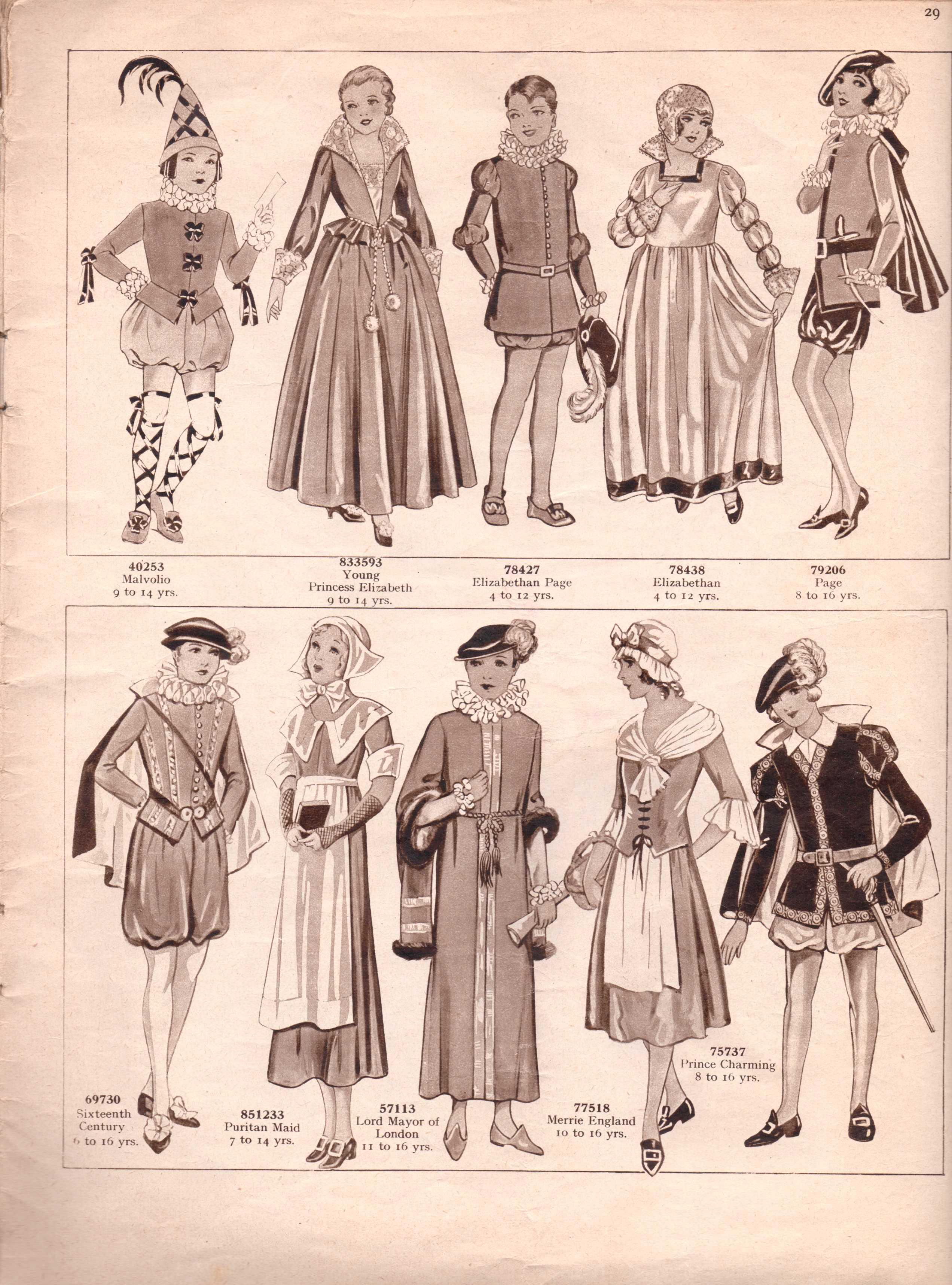 Weldonu0027s Fancy Dress24  sc 1 st  The Sunny Stitcher & Vintage Sewing Pattern Catalogue u2013 Fancy Dress For Children u2013 The ...