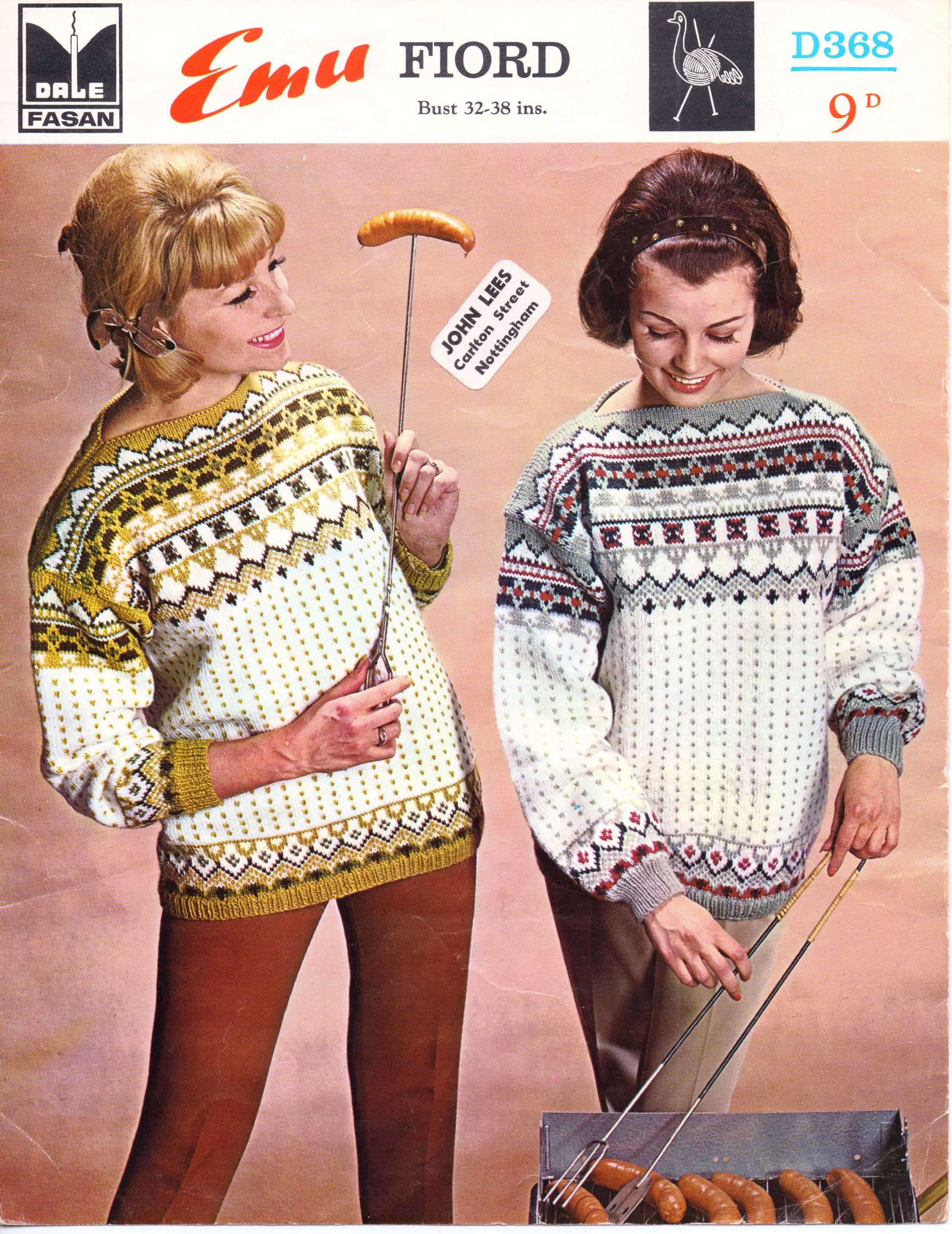 Patterns from 1960s the sunny stitcher free knitting pattern 60s norweigan bankloansurffo Images