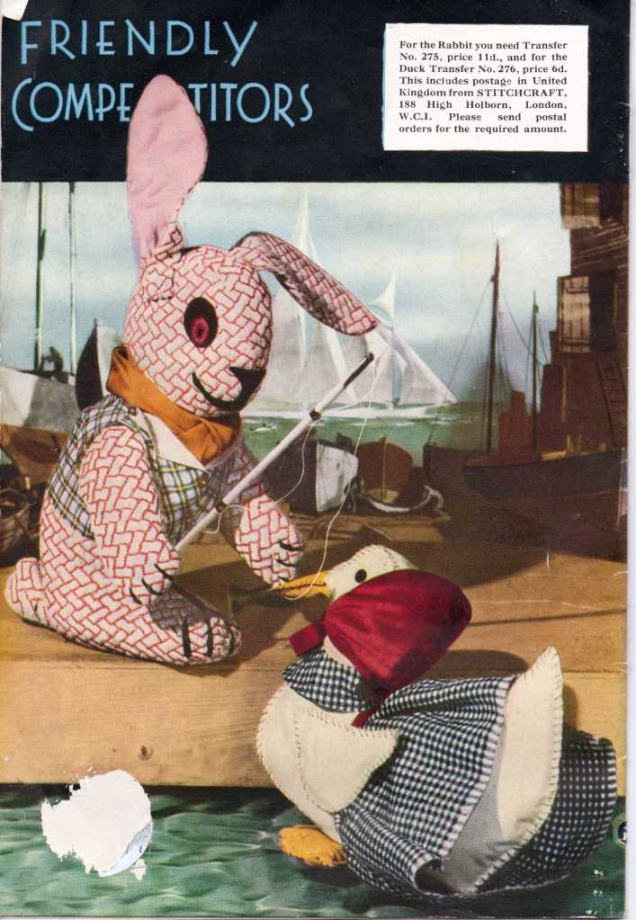 Stitchcraft Dec 1943 Back Cover
