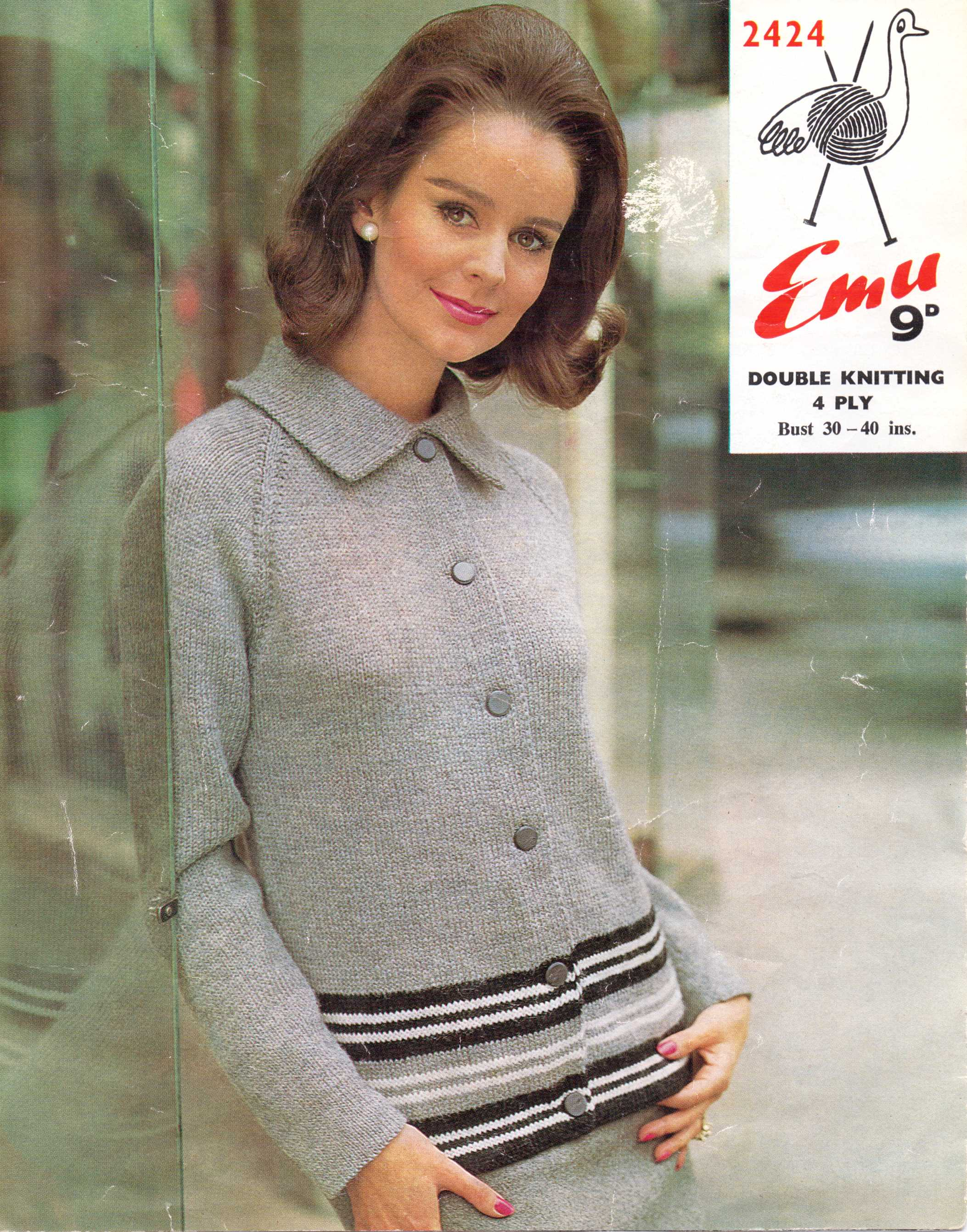 Patterns from 1960s the sunny stitcher free 60s mod knitting pattern cardigan bankloansurffo Images