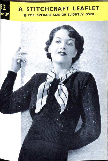 Miss Lemons scarf neck jumper