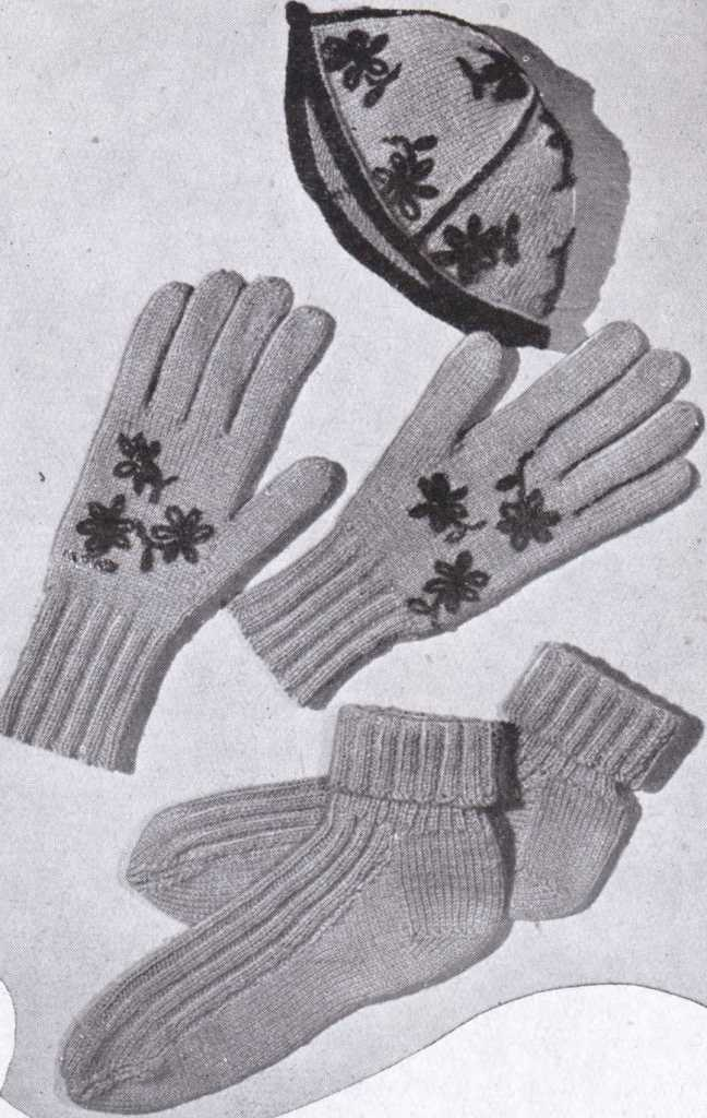 Bestway 1056 ladies gloves free knitting pattern 3