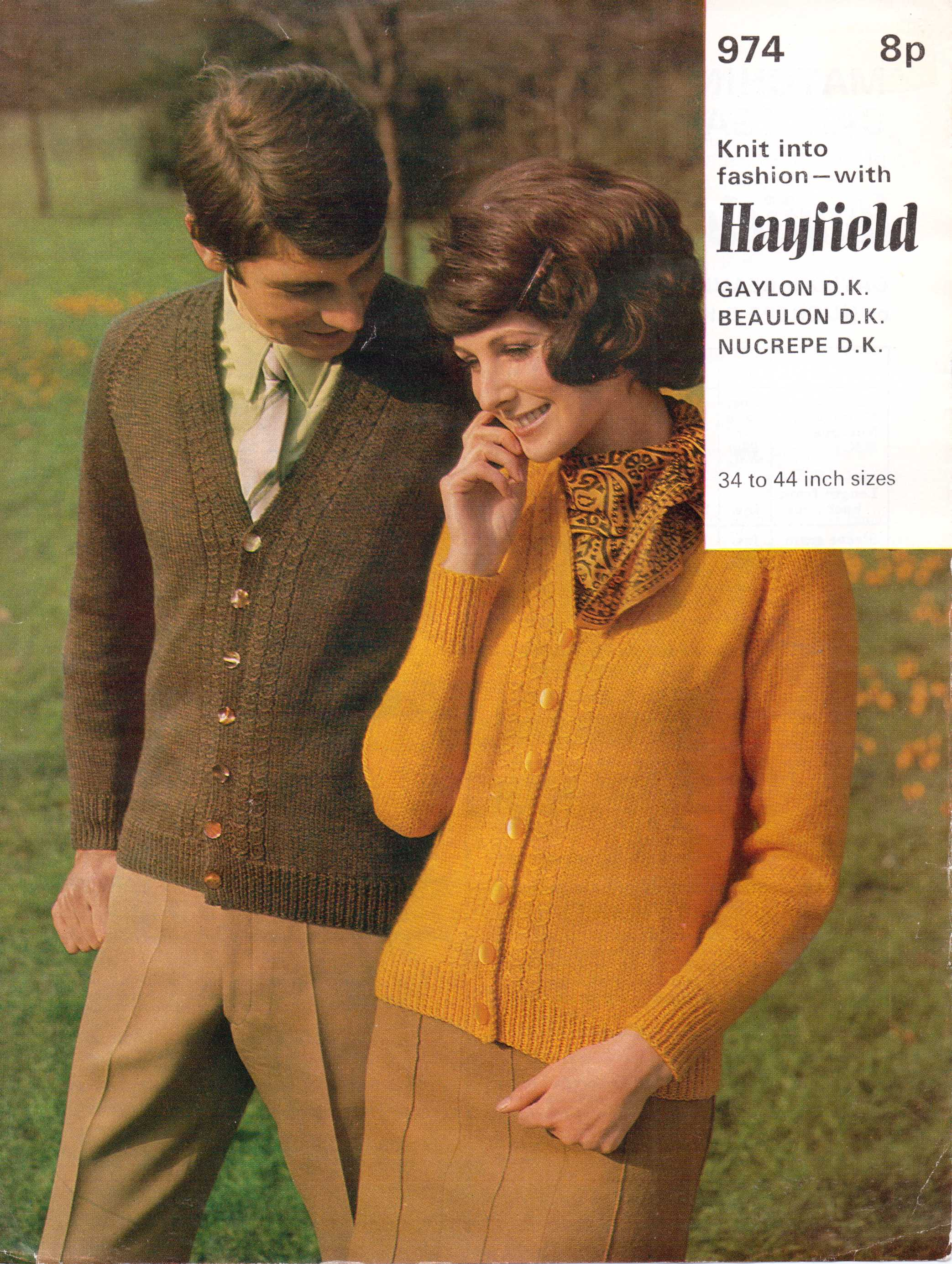 Patterns from 1960s the sunny stitcher hayfield dk cardigan free knitting pattern bankloansurffo Images