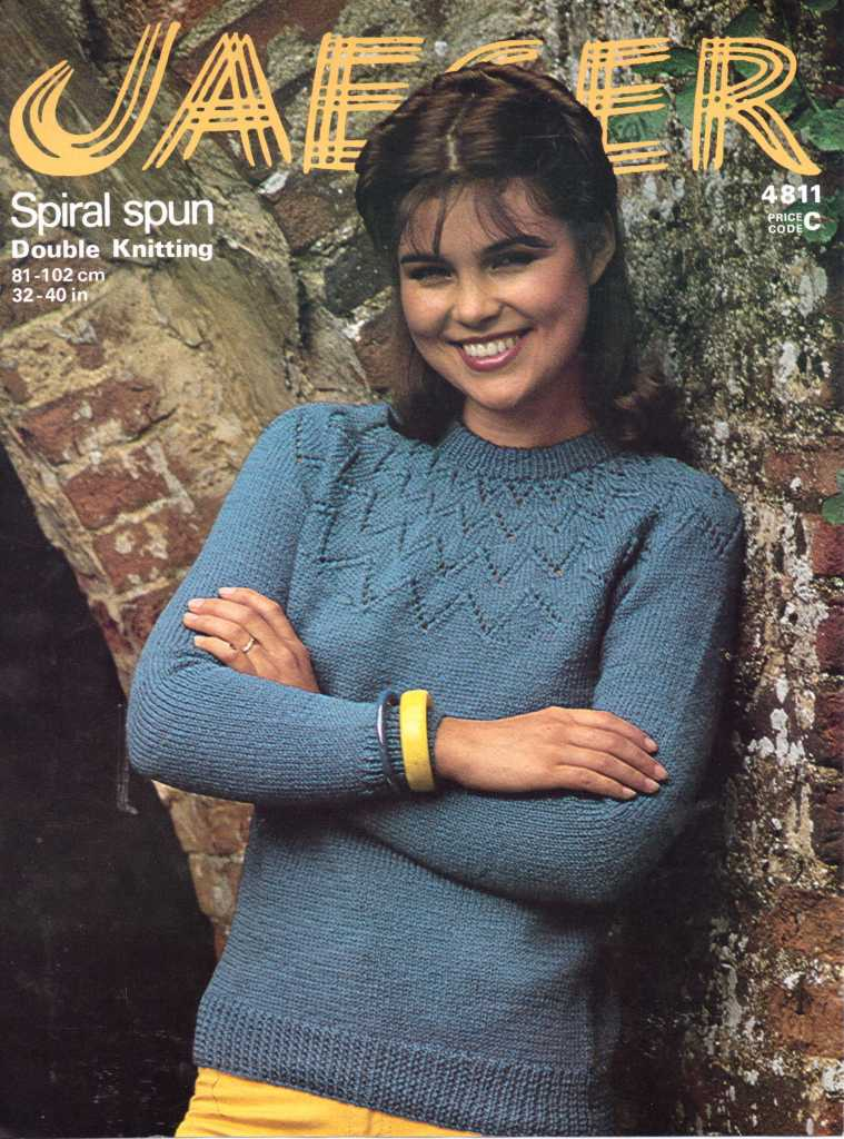 Knitting Pattern Jumper Ladies : Patterns from 1970s   The Sunny Stitcher