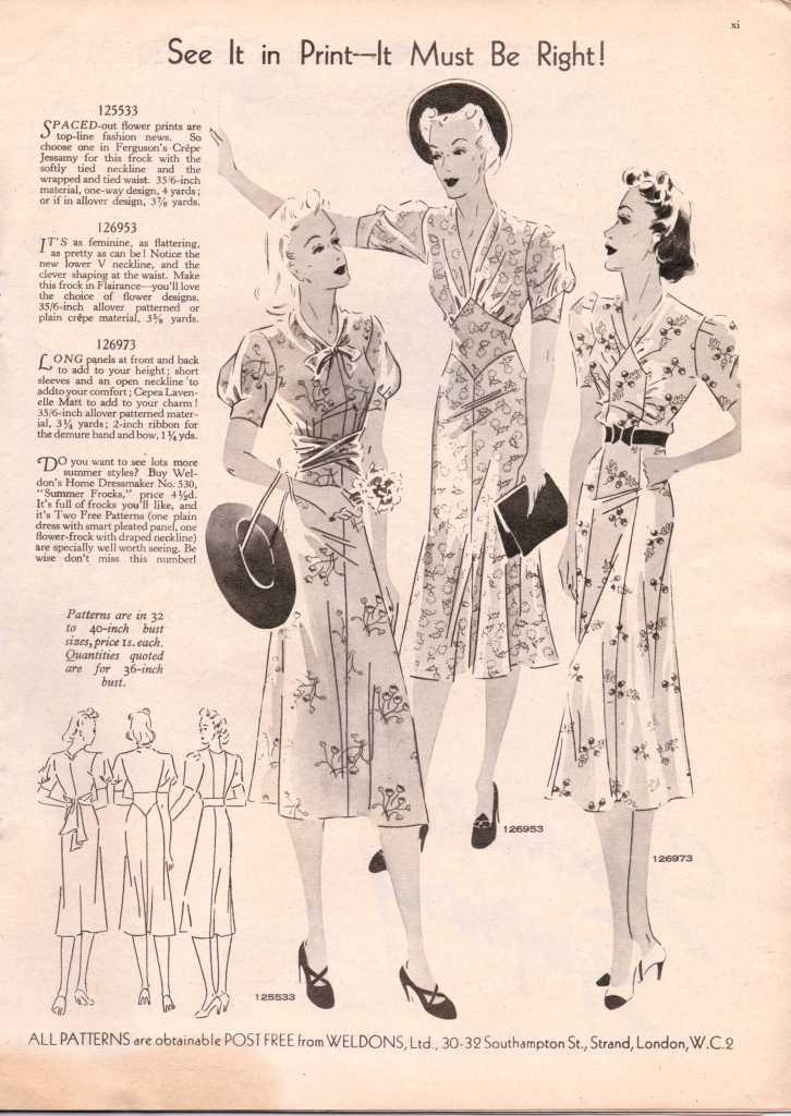 Weldon's Ladies Journal 1938 free knitting pattern12