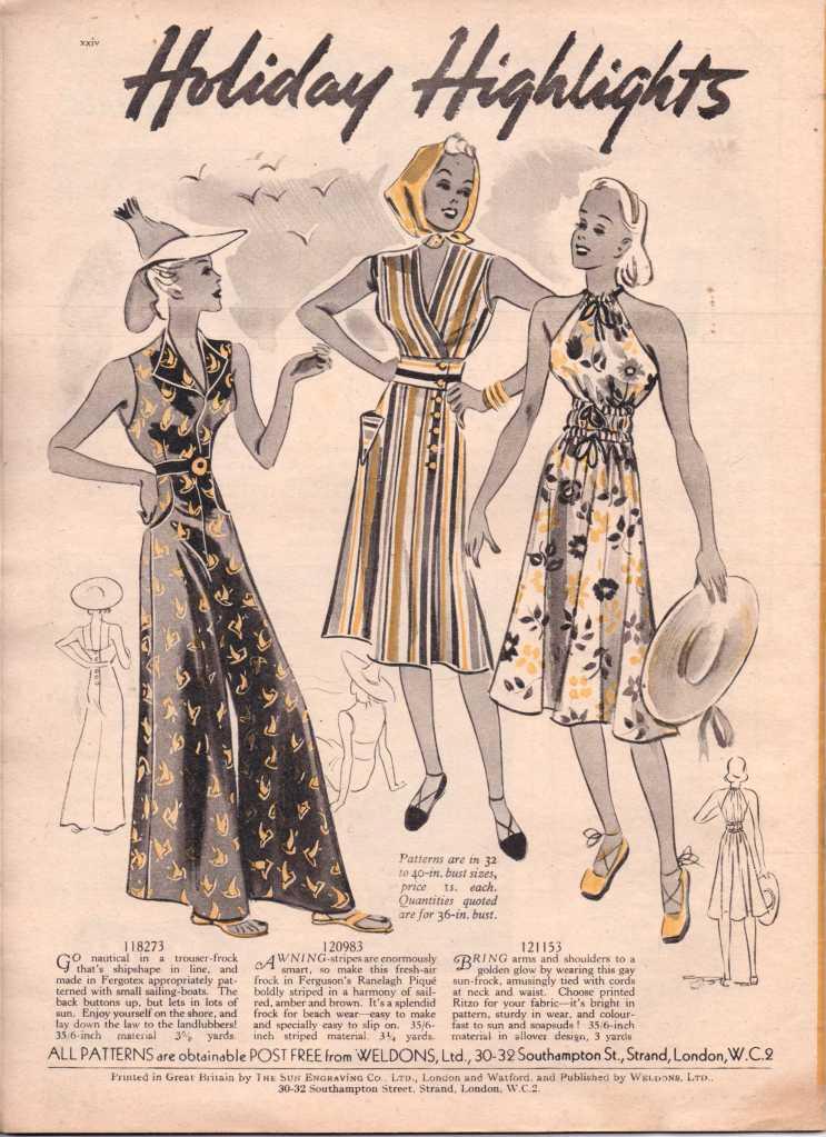 Weldon's Ladies Journal 1938 free knitting pattern25