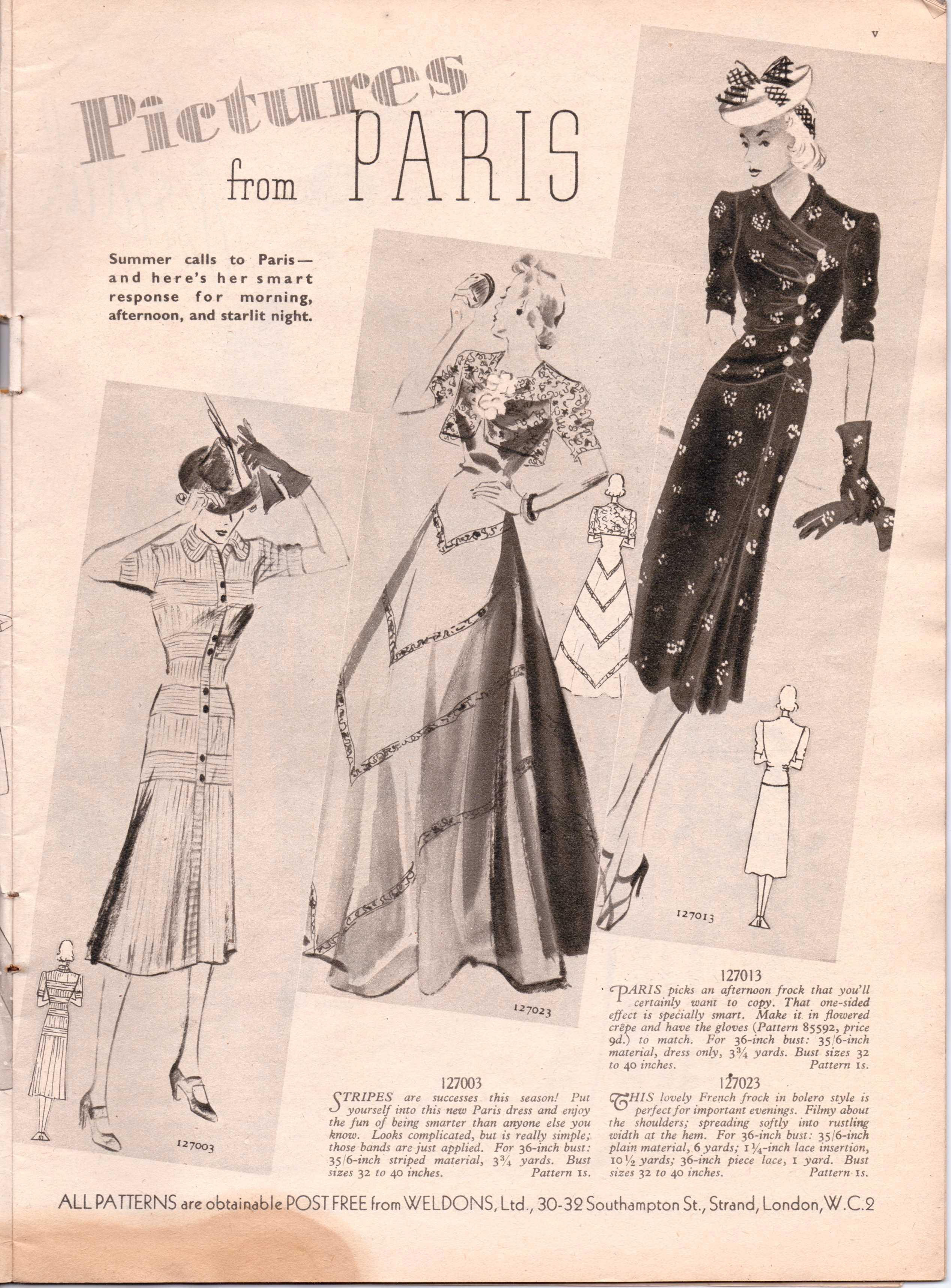 Tities 1938 vintage North