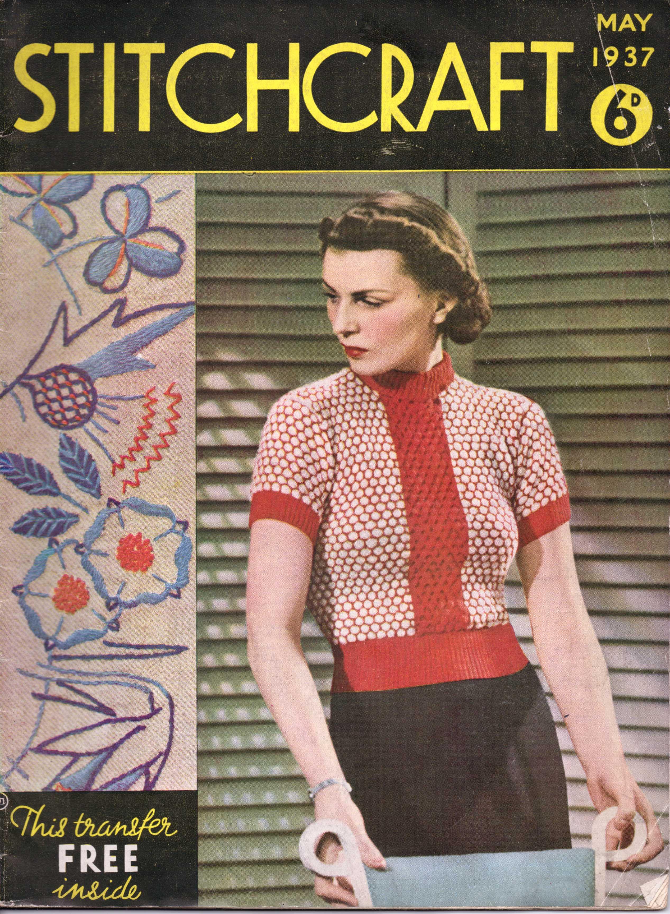 free vintage crochet – The Sunny Stitcher