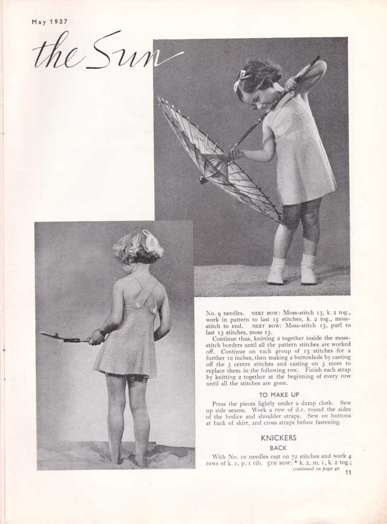 Stitchcraft May 193711
