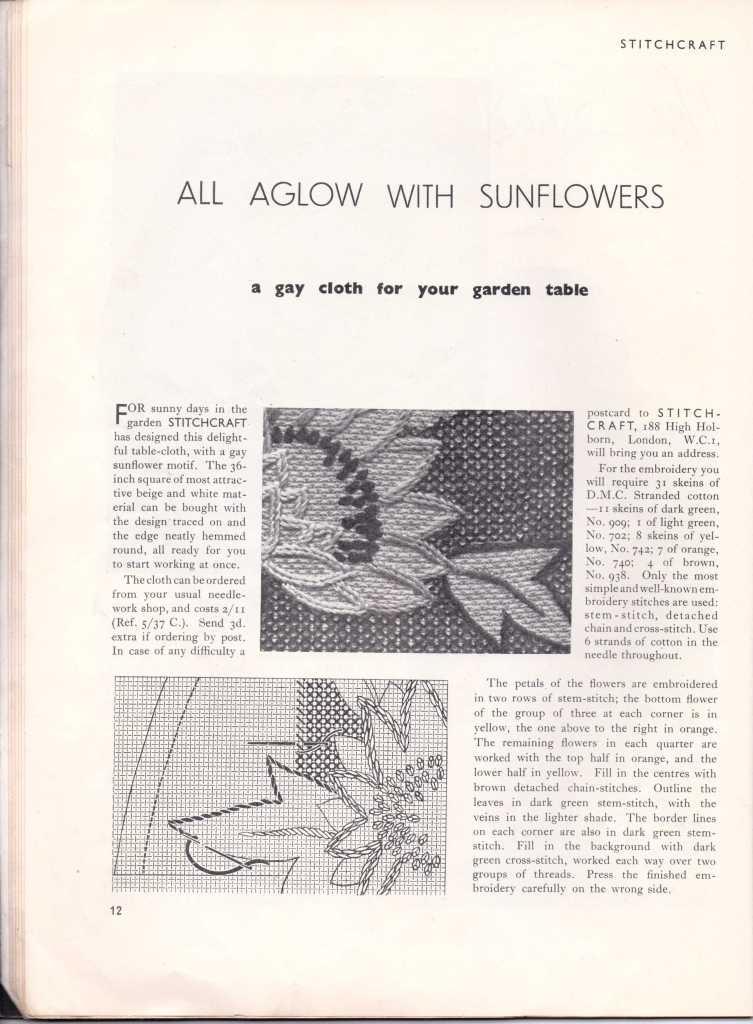 Stitchcraft May 193712