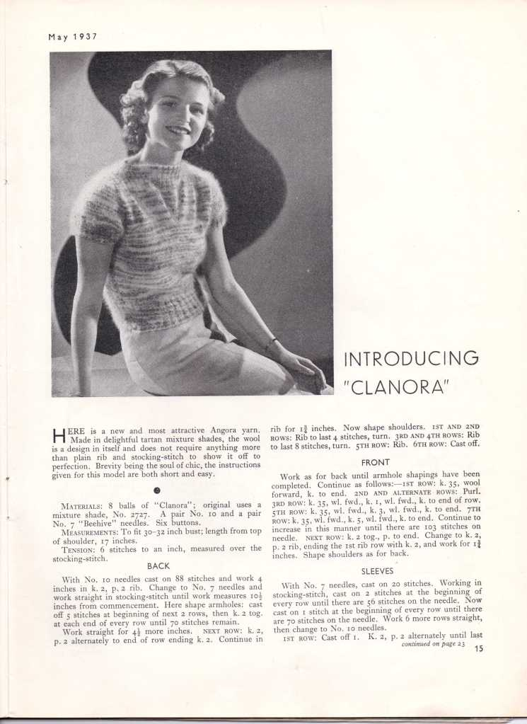 Stitchcraft May 193716