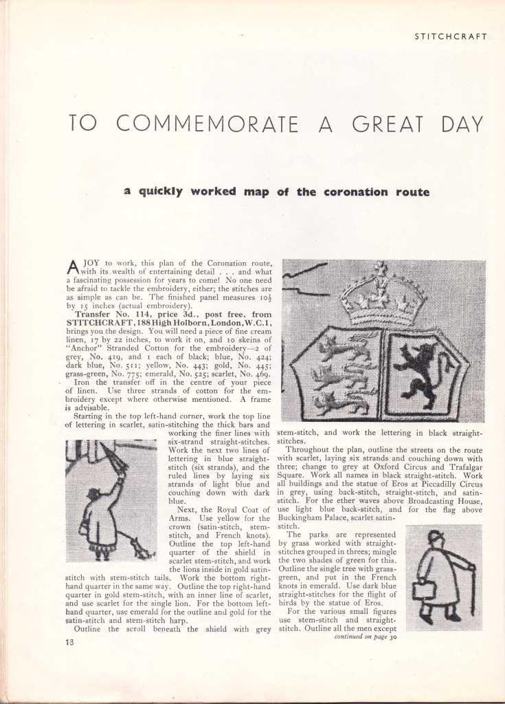 Stitchcraft May 193719