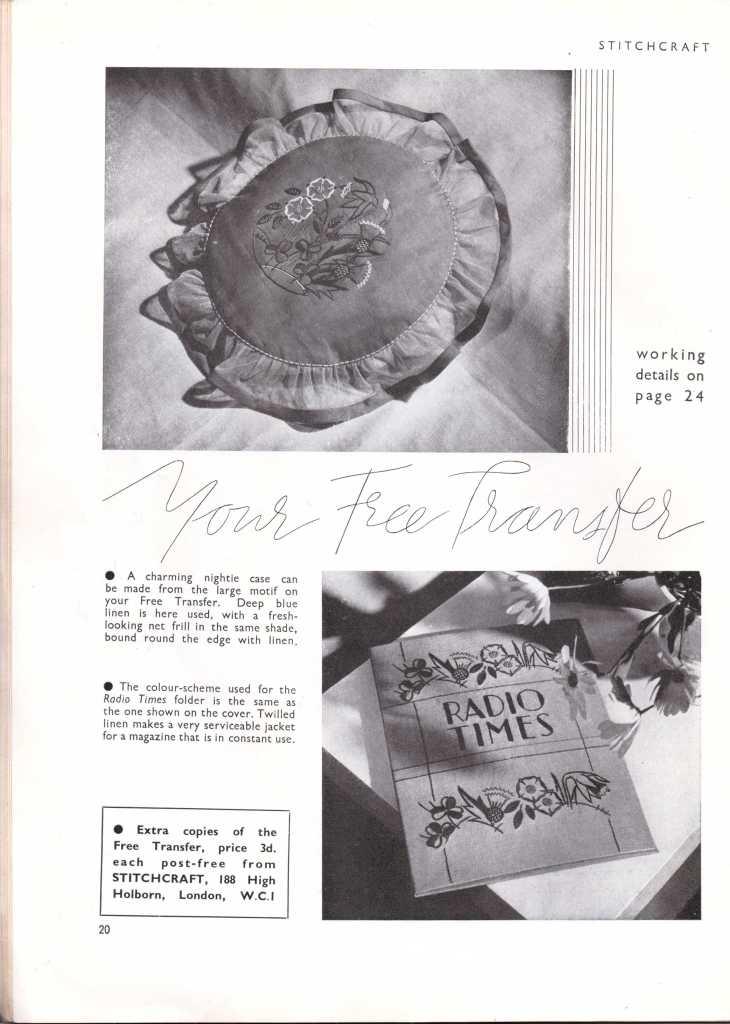 Stitchcraft May 193721