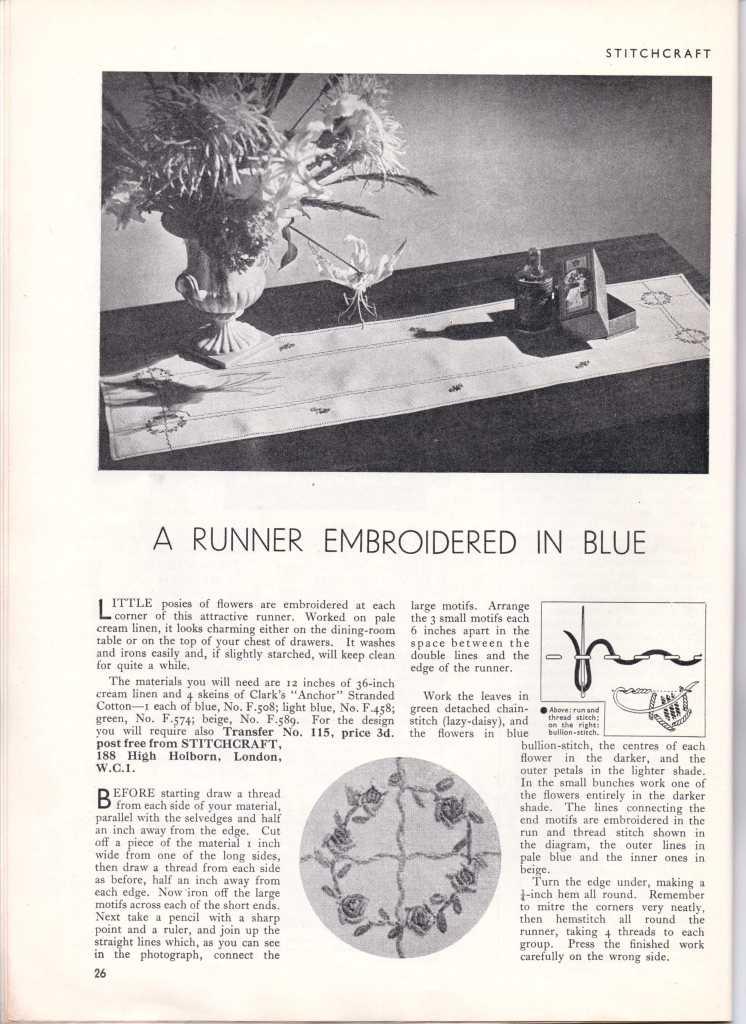 Stitchcraft May 193725