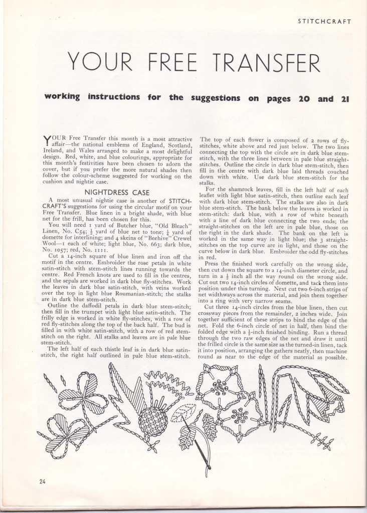 Stitchcraft May 193726