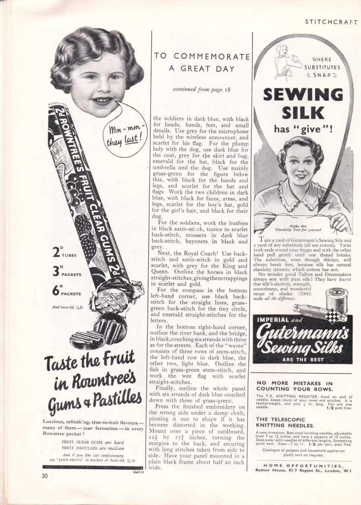 Stitchcraft May 193730