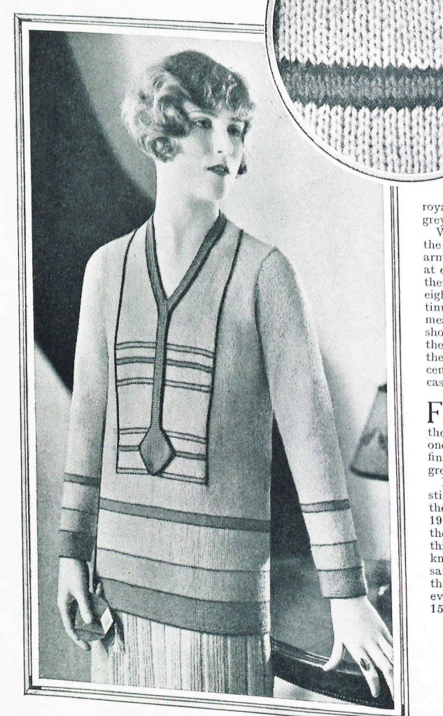 free vintage knitting pattern from Sunny Stitcher page 2-2