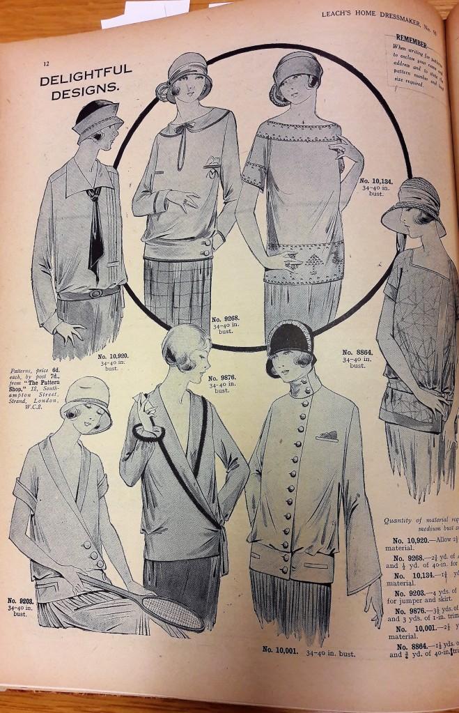 1925 Leach's Home Dressmaker